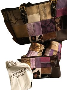 Coach Multi/Patchwork Mules
