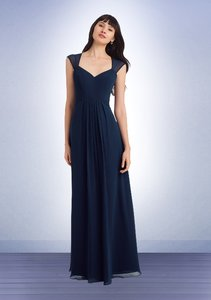 Bill Levkoff Navy Never Worn - Bill Levkoff Bridesmaid Style #1124 Dress