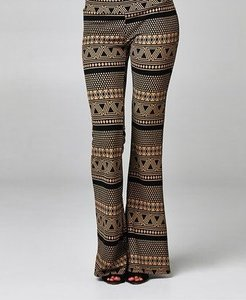 GERARD DAREL Relaxed Pants Mocha & Black