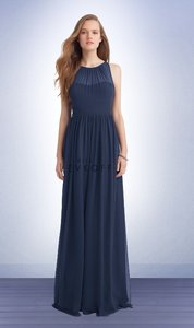 Bill Levkoff Navy Never Worn - Bill Levkoff Bridesmaid Style #1147 Dress
