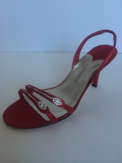 Caparros Red Sandals