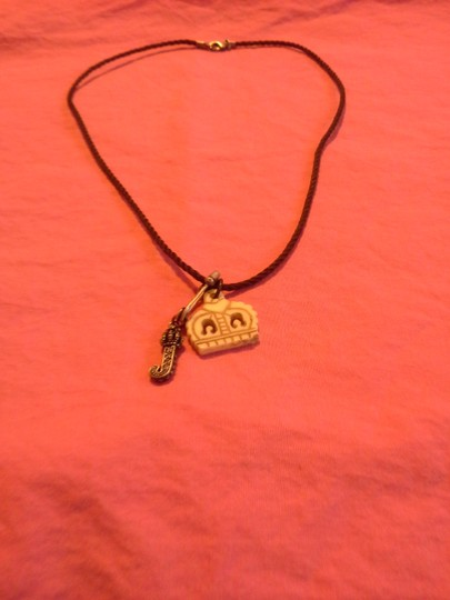 Juicy Couture Juicy Couture 16'' Brown Rope Necklace