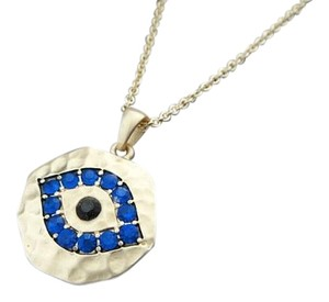 Other Evil Eye Pendant Necklaces with Blue Rhinestone