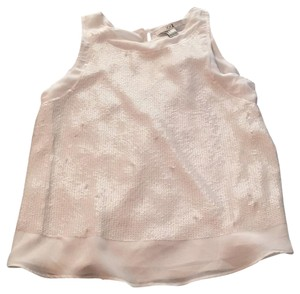 Forever 21 Top White with sequins
