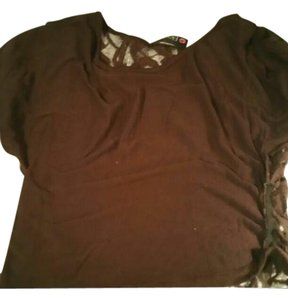 Body Central T Shirt brown