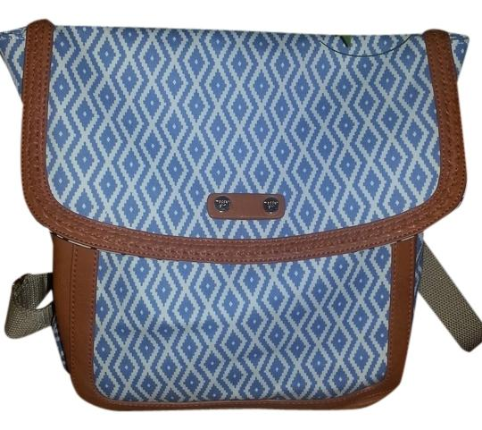 Preload https://item2.tradesy.com/images/madden-girl-blue-multi-canvasleather-backpack-1791386-0-0.jpg?width=440&height=440