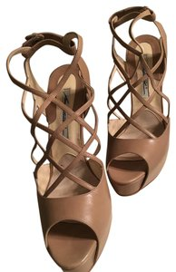 Brian Atwood Tan Pumps