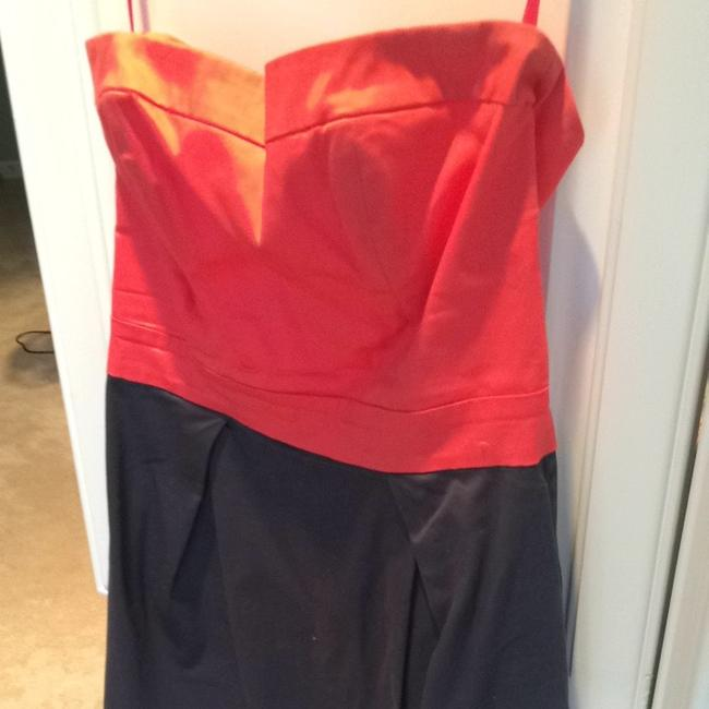French Connection short dress Navy and Orange on Tradesy