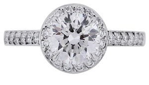 Tiffany & Co. Tiffany & Co. Platinum 0.94ct Diamond Engagement Ring