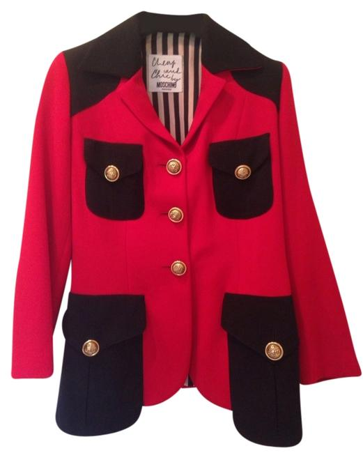 Preload https://img-static.tradesy.com/item/1791464/moschino-red-and-black-cheap-chic-blazer-size-6-s-0-0-650-650.jpg