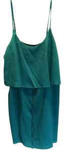Best Society short dress Teal on Tradesy