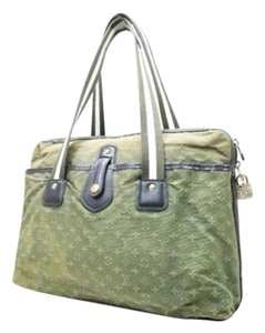 Louis Vuitton Monogram Mini Mary Kate Tote in Green