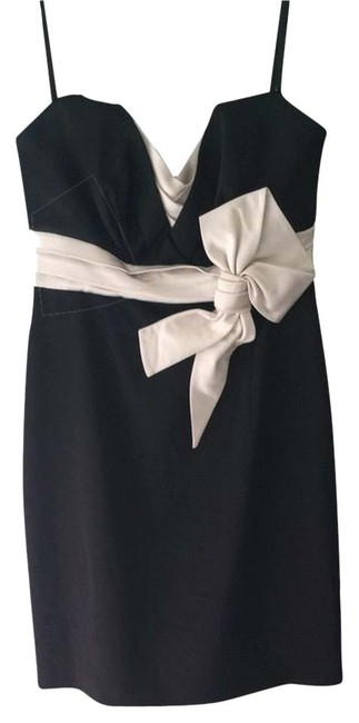 BCBGMAXAZRIA Bcbg Max Ariza 4 Black Formal Sweetheart Dress