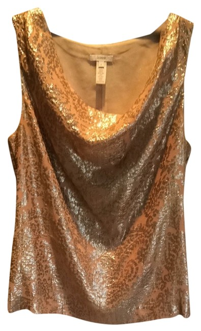 Item - Peach and Gold Top