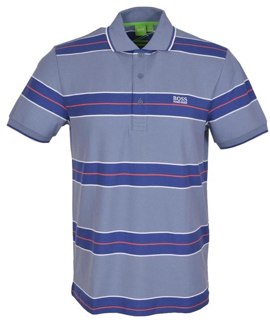 Preload https://img-static.tradesy.com/item/17915167/hugo-boss-slate-blue-new-modern-fit-paddy-1-cotton-polo-golf-tee-shirt-size-4-s-0-1-650-650.jpg