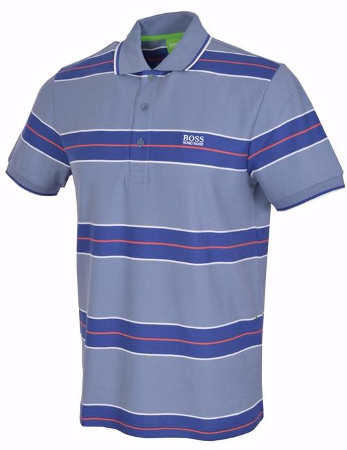 Hugo Boss Polo Polo T Shirt Slate Blue Image 8