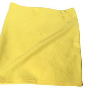 Other Mini Skirt Yellow