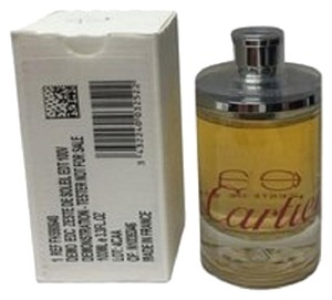 Cartier Eau De Cartier Zeste De Soleil by Cartier 3.3 oz / 100 ml EDT Tester