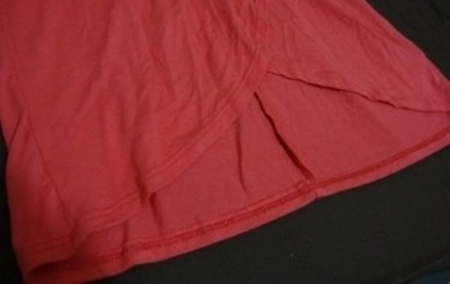 Mandee short dress coral on Tradesy