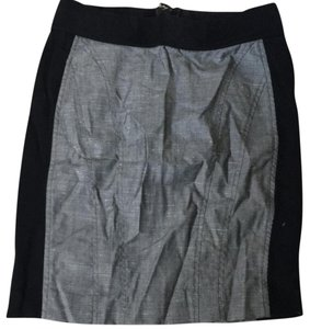 bebe Mini Skirt Grey/black