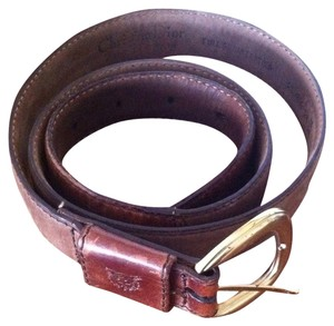 Dior Christian Dior Full Grain Leather Belt