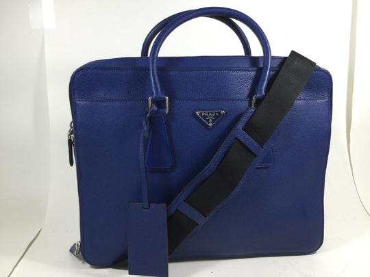 Prada New Leather Handbag Tote Laptop Bag
