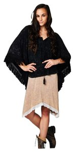 Other Duster Bohemian Mineral Wash Hippie Cape