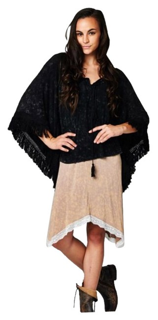 Preload https://img-static.tradesy.com/item/17917279/burgundy-and-black-new-both-colors-avail-drawstring-duster-ponchocape-size-10-m-0-1-650-650.jpg
