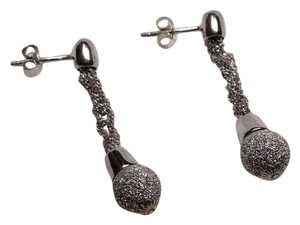 other 1 and 1/2 inch long stud earrings with pretty hanging ball