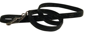 Chanel Dog leash lead quilted leather