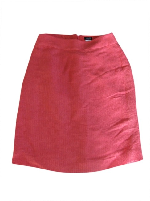 Preload https://img-static.tradesy.com/item/1791798/jcrew-coral-knee-length-skirt-size-10-m-31-0-0-650-650.jpg