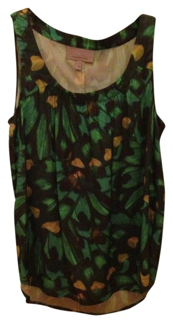 Preload https://item3.tradesy.com/images/classiques-entier-green-sleeveless-work-summer-tank-topcami-size-6-s-1791842-0-0.jpg?width=400&height=650