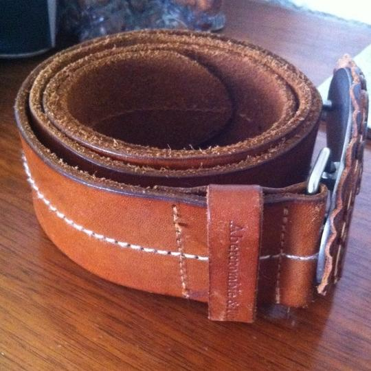 Abercrombie & Fitch Abercrombie & Fitch Oversize Buckle Leather Belt