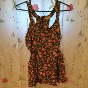 Kirra short dress Floral With Brownish Background on Tradesy