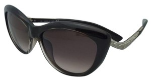 Valentino New VALENTINO Sunglasses V 632SR 210 55-15 Brown Frame w/ Crystals & Brown Fade