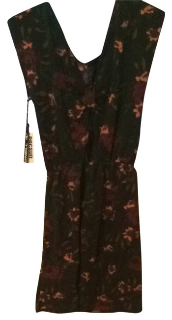 O'Neill short dress Floral With Navy Blue/purpleish Background on Tradesy