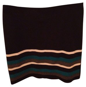 White House | Black Market Pencil Striped Skirt Black