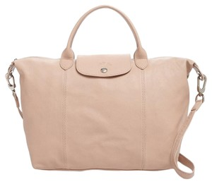 Longchamp Satchel in Sandy
