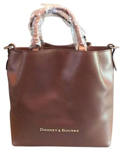 Dooney & Bourke Satchel in Natural/Brown