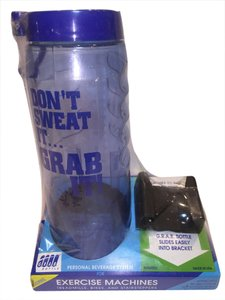 G.R.A.B. Workout Machine Water Bottle by G.R.A.B. Bottle [ Roxanne Anjou Closet ]