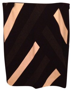 White House | Black Market Pencil Skirt Black striped