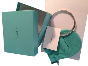 Tiffany & Co. Tiffany & Co 925 Twist Bangle Bracelet