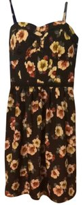 American Eagle Outfitters short dress Floral With Navy Blue Background on Tradesy