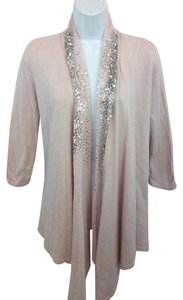 White House | Black Market Pink Knit Cardigan Top