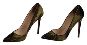 Christian Louboutin Pigalle Ponyhair Pony Camouflage Camo Pumps