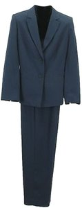 Worthington Worthington X 31.5 Slate Blue Two Piece Pant Suit B311