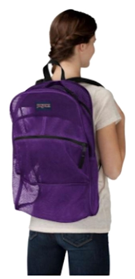 3f9102178cc Purple Mesh Backpack