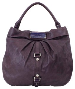 Marc by Marc Jacobs Leather Silver Metal B198 Hobo Bag