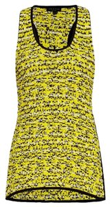 Rag & Bone Top Black and yellow