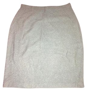 St. John Chanel Dior Gucci Prada Saint Laurent Skirt blue